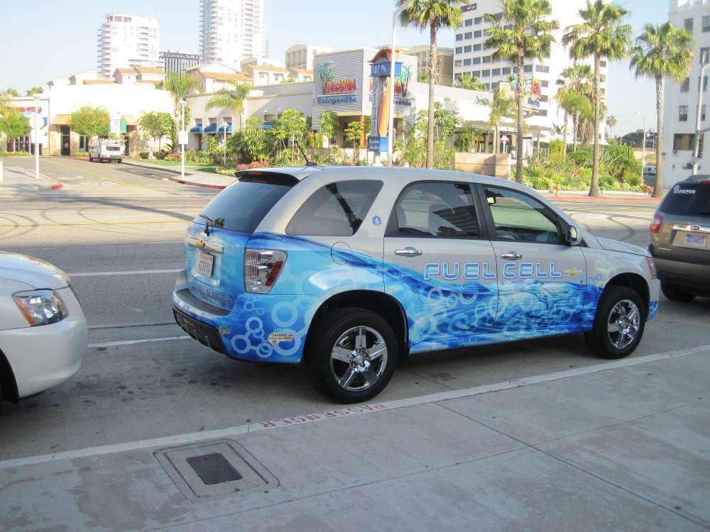 Test drive hydrogen Chevrolet